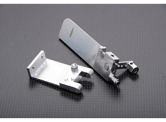 timón de aluminio