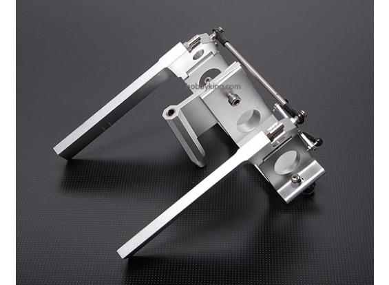 140 mm CNC doble timón