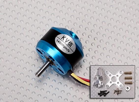 C2822-1400 sin escobillas del motor Outrunner