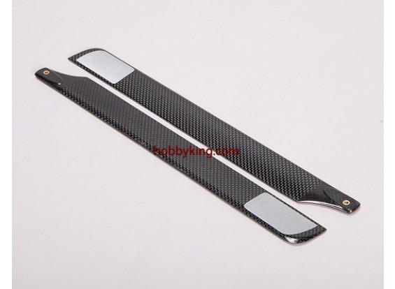 cuchillas principales de fibra de carbono 325mm (X-400)