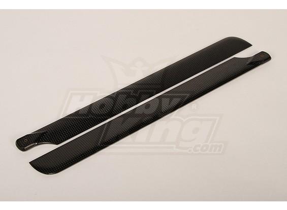 Turnigy 425mm de fibra de carbono principal de la lámina (1 par)