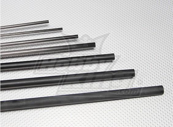 Tubo de fibra de carbono (hueco) 13x750mm