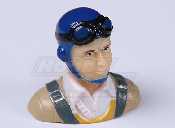 Parkfly clásico de la era piloto (azul) (H37 x W40 x D22mm)