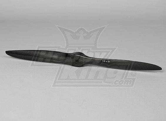 18x8 TCF precisión de fibra de carbono de la hélice (1 unidad)