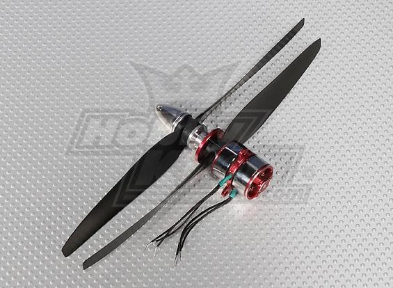 1700kv CR23S Contra Sistema giratorio de BL