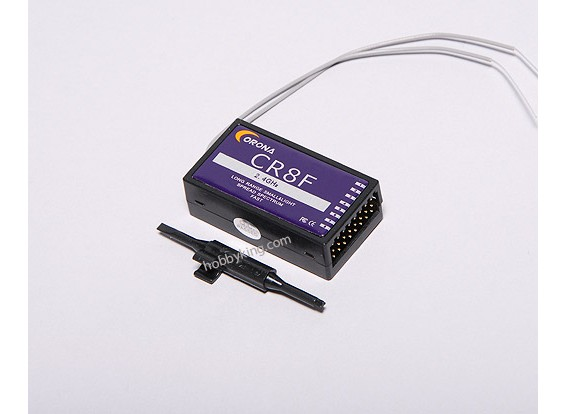 Receptor 2.4Ghz 8ch Corona (FHSS)
