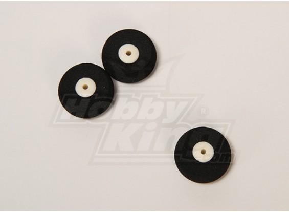 Súper luz de la rueda D25xH10 (3pcs / bolsa)