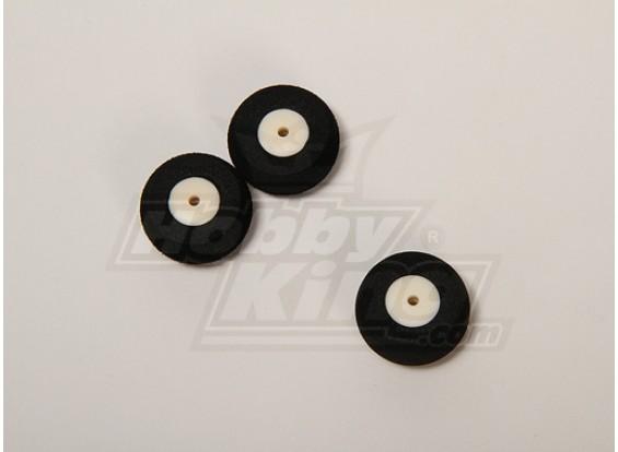 Súper luz de la rueda D25xH13 (3pcs / bolsa)