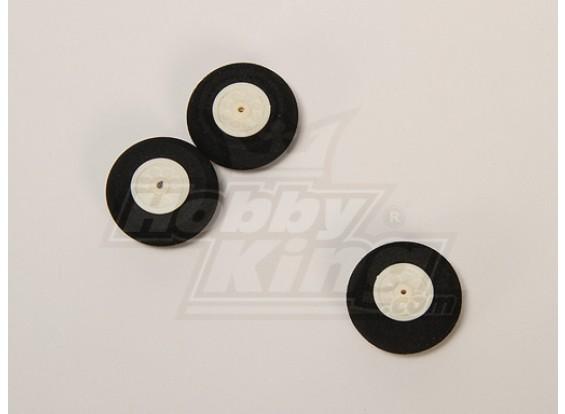Súper luz de la rueda D30xH12 (3pcs / bolsa)