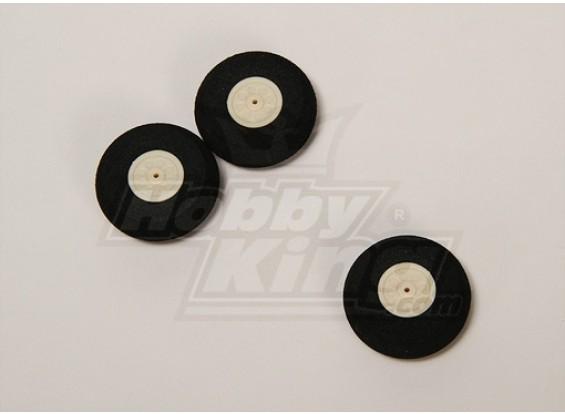 Súper luz de la rueda D35xH12 (3pcs / bolsa)