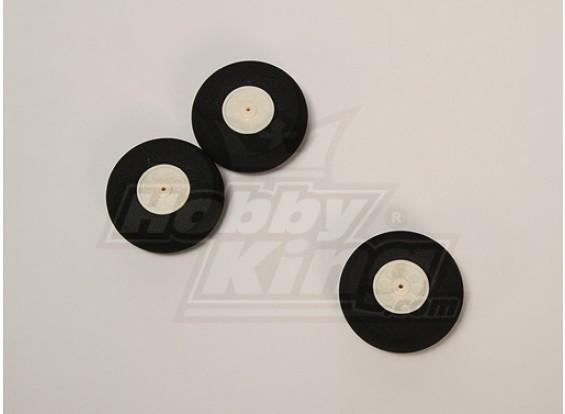 D55xH18.5 de ruedas Super Light (3pcs / bolsa)