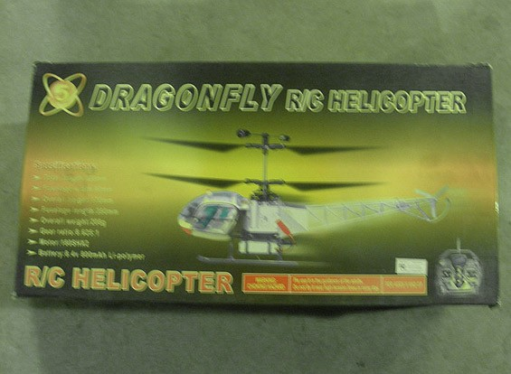 SCRATCH / DENT libélula helicóptero (Almacén AUS)