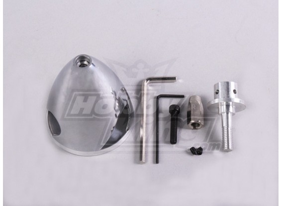 Spinner de aluminio de 51 mm / 2.0in - 3 Cuchilla