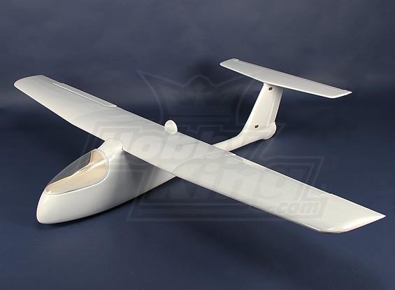 Águila de fibra de vidrio FPV - UAV (blanco) (ARF)
