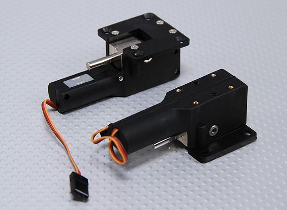 Servoless retracción con muñones de metal de 33 mm x 35 mm Montaje (2 piezas)