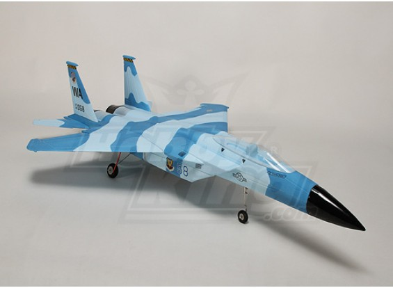 F-15 avión de combate w / 64mm Kit Doble EDF