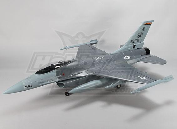 90mm EDF JET w / por aire se retrae (versión gris) (PNF)