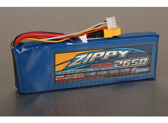 30C ZIPPY Flightmax 2650mAh 3S1P