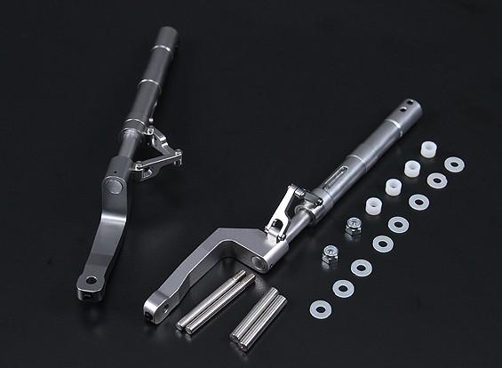 Las piernas de la aleación Oleo Offset Estilo F8F 2pc 168mm