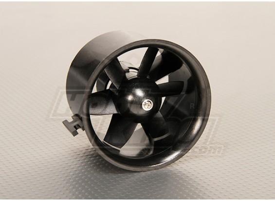 Unidad EDF conductos del ventilador 6Blade 70 mm 2.75inch