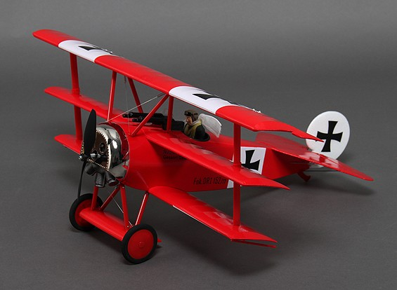 Fokker triplano Dr.1 640mm EPO (PNF)