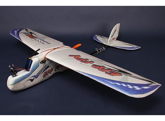 PPE-FPV 1.8M X-Grande del PPE y de fibra de carbono de R / C avión