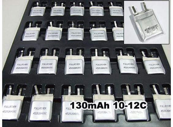 Fullriver 130mAh Lipo 10C-12C de la célula