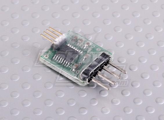 FrSky receptor de telemetría de actualización de interfaz de cable USB / Serial