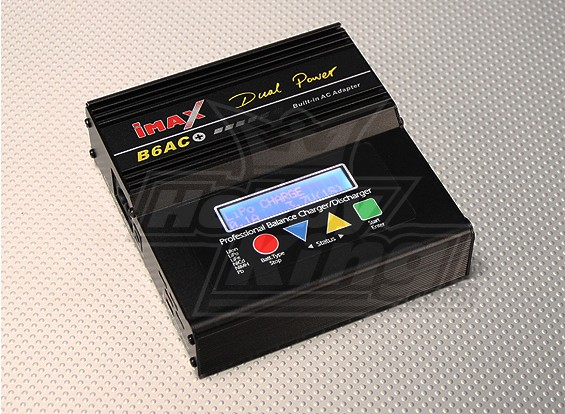 B6-AC Plus - cargador / descargador de 1-6 células de energía dual (COPIA)