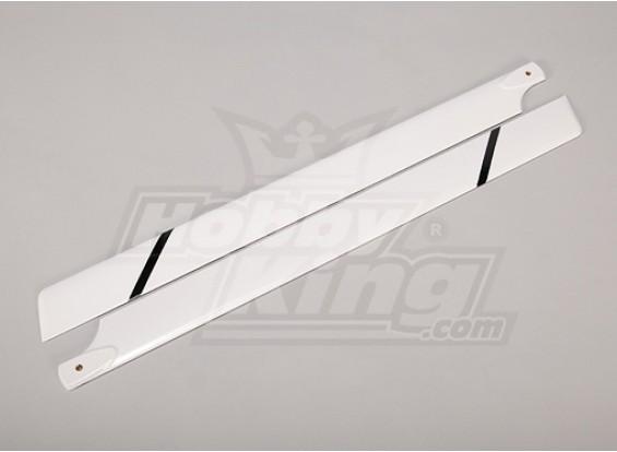 700 mm de fibra de vidrio láminas principales