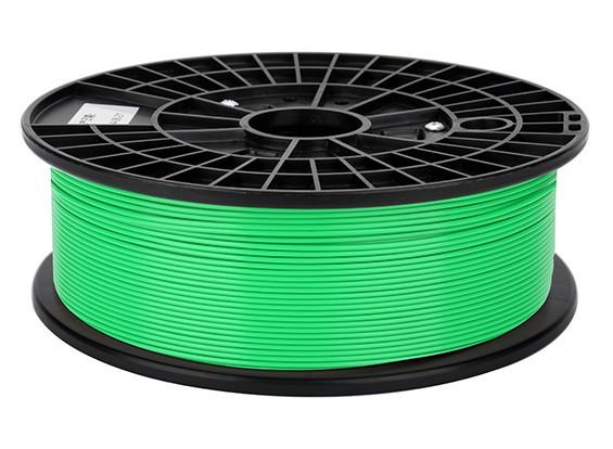 CoLiDo 3D Filamento impresora 1.75mm PLA 500 g de cola (verde)