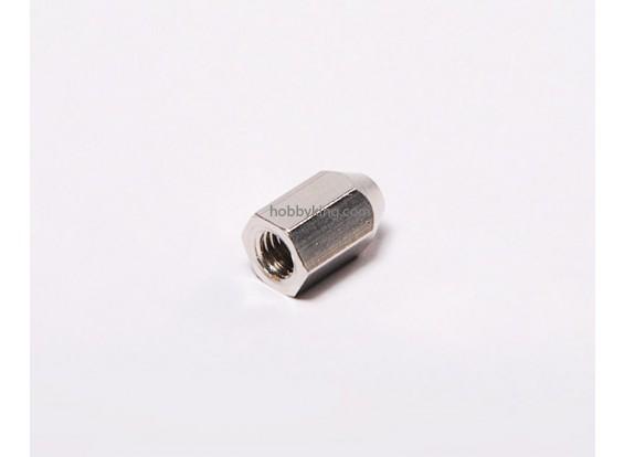 Tuerca de latón para Spinners M6x1-M4