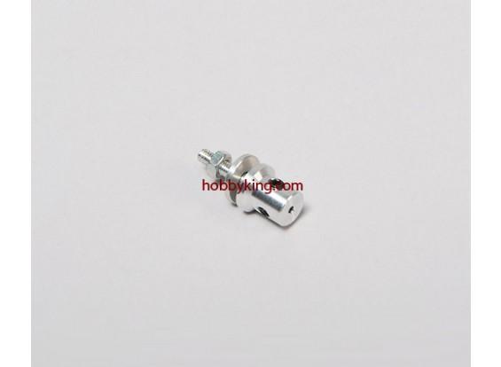 Prop adaptador w / Acero Tuerca M3x1.5mm eje (Grub tipo tornillo)