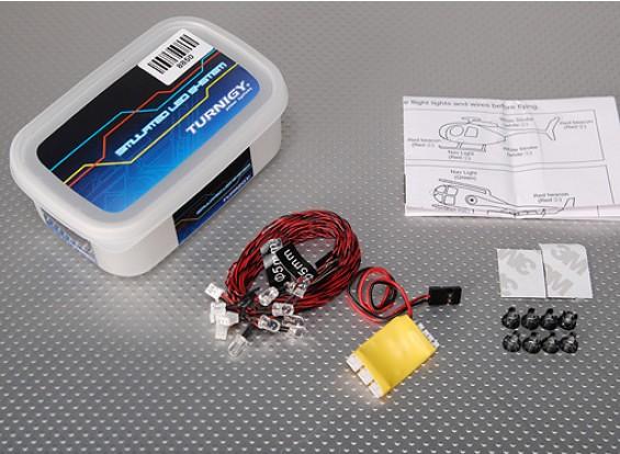 Turnigy R / C sistema de iluminación LED