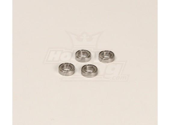 HK600GT rodamientos de bolas Pack (9x12x5mm) 4pcs / bolsa