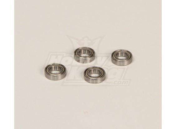 HK600GT rodamientos de bolas Pack (10x19x5mm) 4pcs / bolsa