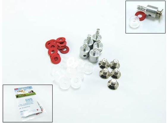 Conectores Snap varilla de empuje de 1,5 mm (5pack)