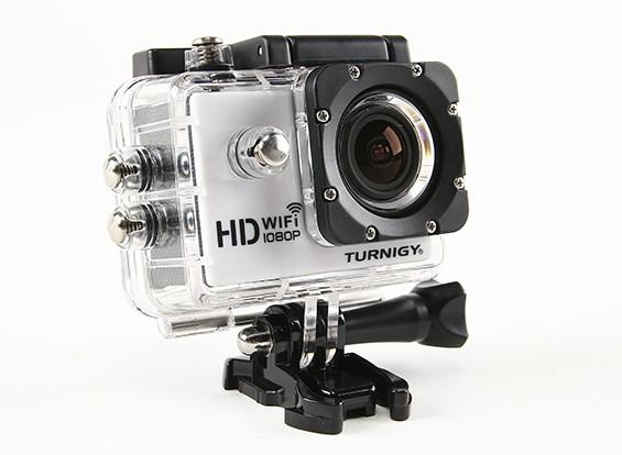 Cámara Turnigy HD WiFi ActionCam 1080P Full HD video w / estuche estanco al agua
