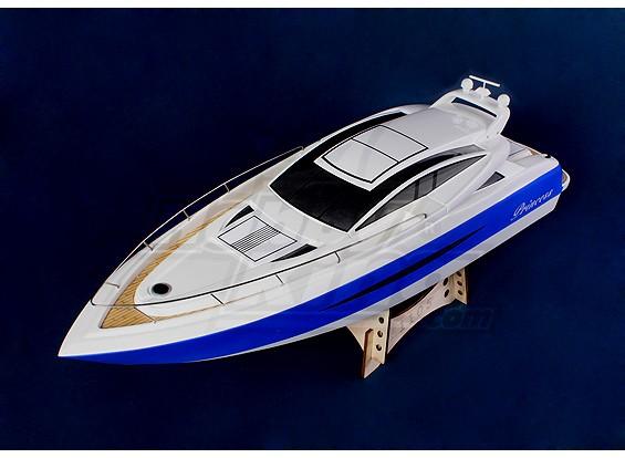 Princess V-casco del barco (1000mm) Fiberglass Sólo