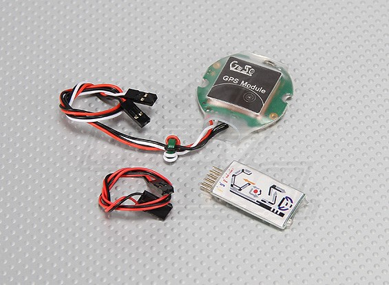 HobbyKing G-OSD (On Screen Display) con el GPS