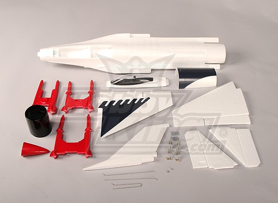 Sólo Mini kit de EDF avión de combate del ARF (EPO)