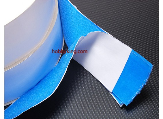 Poliéster velcro Peel-n-palillo lado adhesivo V-FUERTE (1mtr)