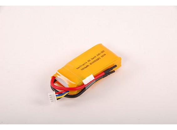 HXT D9 G2 1000mAh 11.1v Lipo Pack de 20-30C