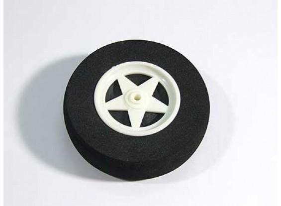5 ruedas de radios con absorción de impactos D75xH18mm