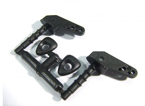 Pin cuernos 21x11 con 4 orificios