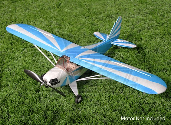 Hobbyking Mini J3 Cub (ARF) (Azul)