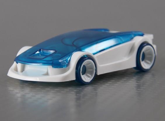 La mujer explosiva - Pilas de Combustible Agua salada Powered Car Kit