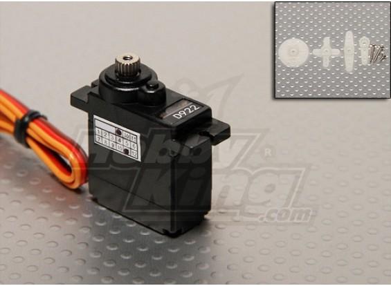1,8 kg D922MG metal Digital Gear Servo / 12 g / 0.07sec