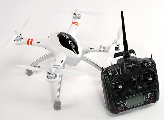 Walkera QR X350 PRO GPS FPV RC Quadcopter DEVO 7 (Modo 2) (listo para volar)