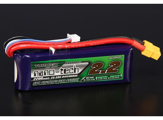 Turnigy nano-tech 2200mah 3S 25 ~ 50C Lipo Pack de